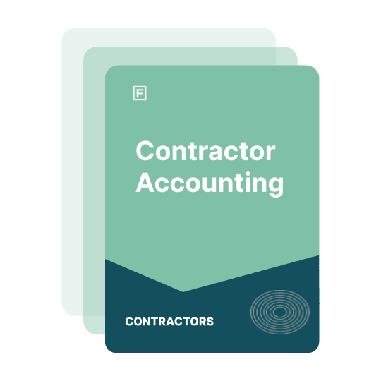 contractor accounting guide