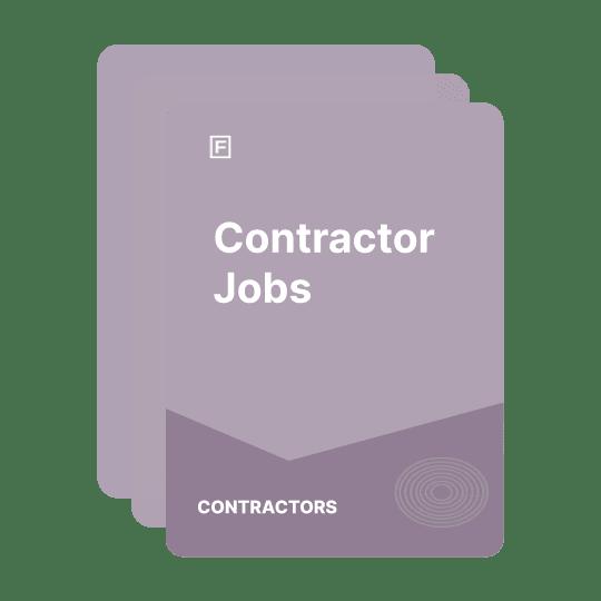 contractor jobs guide
