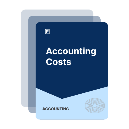 accounting cost guide