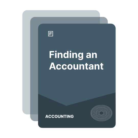finding an accountant guide
