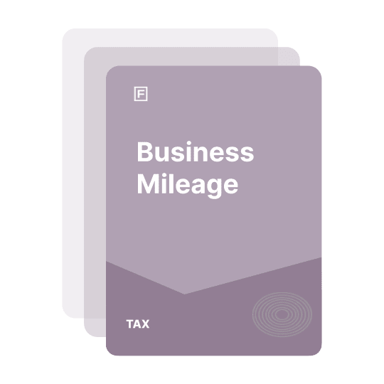 claim for business mileage guide