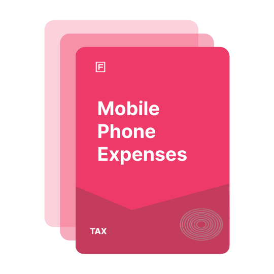 claiming mobile phone expenses self employed guide