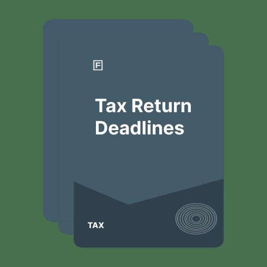 deadline for tax return guide
