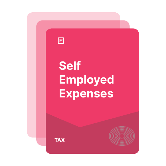 self employed expenses guide