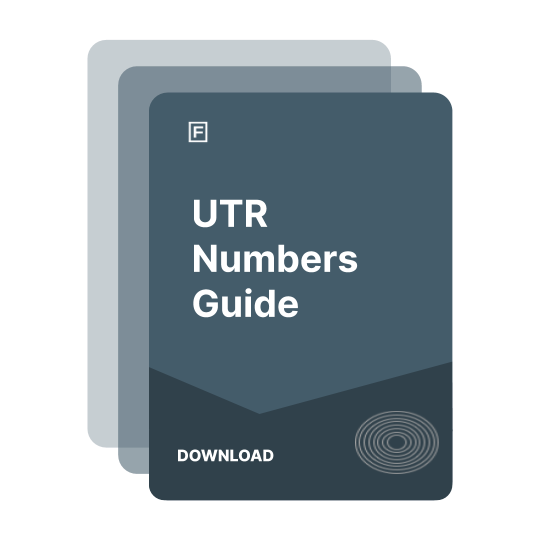 UTR Numbers Guide guide