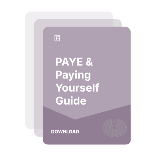 PAYE, P60's and Paying Yourself Guide guide