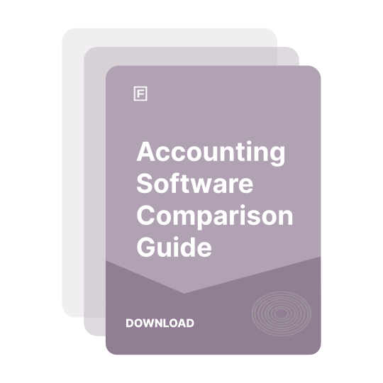Accounting Software Comparison Guide guide