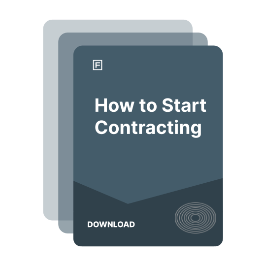 How to Start Contracting Guide guide