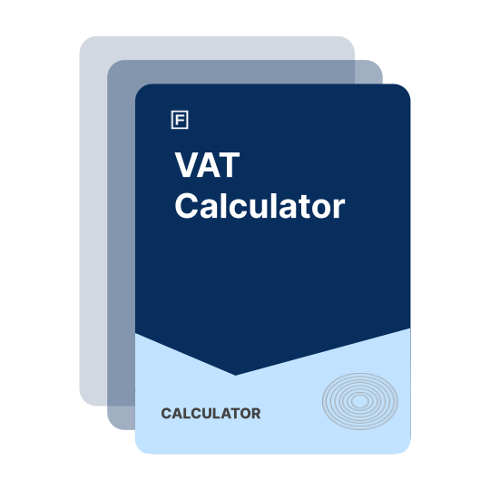 iPhone about to calculate VAT