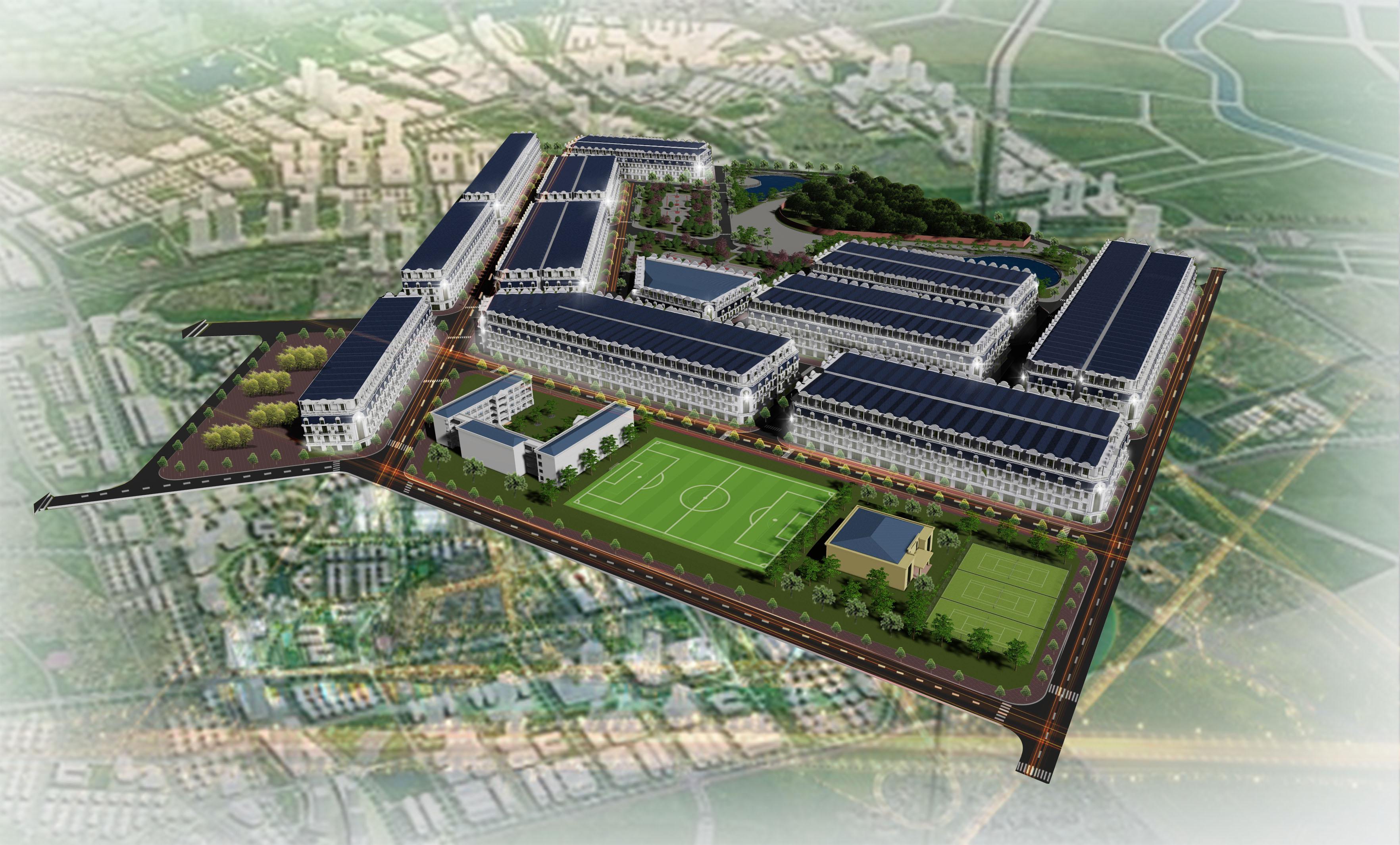 Giới thiệu Dự án Khu đô thị xã Xuân Lâm