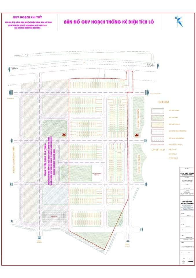 Bán lô đất làn 2 dự án Khu đô thị Ánh Dương - LH 0835.166.268