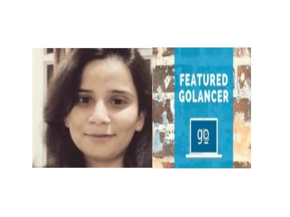 Featured goLancer: Sristi Priya