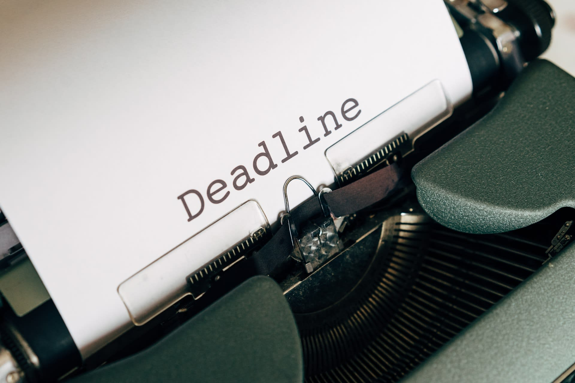 7 Ways To Effectively Meet Deadlines
