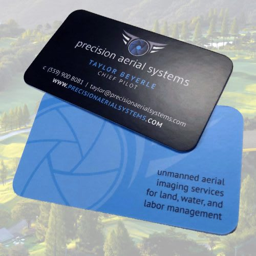 Drone Company Business Cards