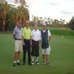 Bill Crane, Gary Todd, & Caddie @ Olde Florida