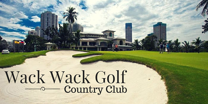 Wack Wack Golf & Country Club - Discounts, Reviews and Club Info