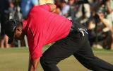 Tiger Woods und der Rücken: Seine Masters-Teilnahme ist weiter fraglich. (Foto: Getty)