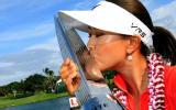 Michelle Wie sicherte sich den Sieg bei der LPGA LOTTE Championship.