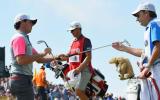 Rory McIlroy und sein Caddy J. P. Fitzgerald trafen bei der British Open stets die richtige Wahl. (Foto: Getty)