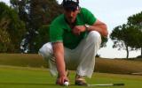Frank Schäfer spielt bei Tour Series für ein Golf-Post-Team.