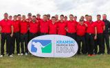 Die Herrenmannschaft des Golfclub St. Leon-Rot überzeugte beim zweiten Spieltag der Kramski DGL im Golfclub Riedstadt Kiawah mit starker Performance. (Foto: DGV/stebl)