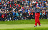 Patrick Reed sorgte beim Ryder Cup in Gleneagles nicht nur mit seinem Golfspiel für Aufregung. (Foto: Getty)