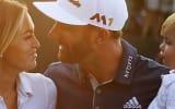 Groß war die Erleichterung und die Freude bei Dustin Johnson und seiner Familie nach dem Sieg bei der US Open.