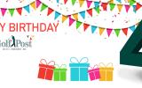 Happy Birthday Golf Post - das Kölner Online-Magazin feiert seinen vierten Geburtstag. (Foto: Golf Post)