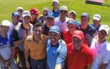 Alle Stars beisammen: Selfie von Sergio Garcia bei seinem Charity-Event nach der British Open. (Foto: instagram/europeantour)