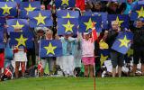 Fans feiern das europäische Ryder-Cup-Team. (Foto: Getty)