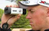 Joe Miller muss genau hingucken, will der World Long Drive Champion sehen, wo seine Bälle landen.