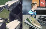 Egal ob beim Fitting in Herzogenaurach oder auf dem Platz - Der Golf Post Produkttester nahm die OL Eisen von Cobra Golf durchweg genauestens unter die Lupe. (Foto: Markus Pabst)