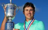 Brooks Koepka hat sich mit einer beeindruckenden Finalrunde bei der US Open sein erstes Major gesichert. (Foto: Getty)