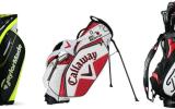 Golfbags gibt es in unterschiedlichen Variationen, welches passt zu Ihnen? (Foto: Taylormade/Callaway/Titleist)