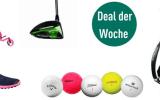 Sichern Sie sich im Deal der Woche bei Golf Post die perfekten Weihnachtsgeschenke. (Foto: JuCad/Callaway/Wilson/Titleist/Puma)