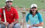 Jon Rahm gewinnt die DP World Tour Championship und Tommy Fleetwood holt sich den Sieg beim Race to Dubai. (Foto: Getty)