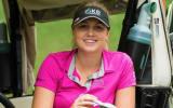 Olivia Cowan gibt sich im Golf Post Interview zufrieden und selbstbewusst. (Foto: Twitter.com/@LETgolf)