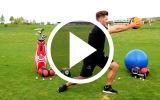 Golf-Fitness Golftraining Video Gewichtsverlagerung