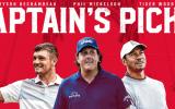 Die drei Captain's Picks für Team USA beim Ryder Cup 2018 stehen fest. (Foto: Twitter/ @RyderCupUSA)