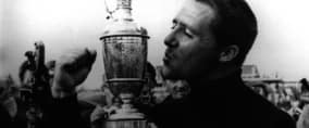 British Open Gary Player mit dem Claret Jug