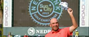 Thomas Björn siegt bei der Nedbank Golf Challenge.
