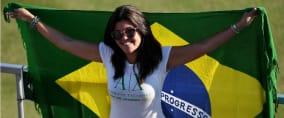 Der Golfwettbewerb der Damen bei Olympia 2016 in Rio de Janeiro begeistert die Fans.