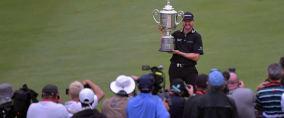 Jimmy Walker war bei der 98. PGA Championship im Baltusrol GC fällig. Er holte sich in einem spannenden Finale den Sieg und sein erstes Major. (Foto: Getty)