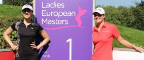 Sandra Gal (links) und Caroline Masson wollen am Finaltag des Ladies European Masters nochmal alles geben. Verfolgen Sie ihre Runden in unserem Livestream. (Foto: Golf Post)