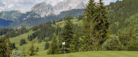 Die Schweiz hat golferisch traumhafte Kulissen und atemberaubende Ausblicke zu bieten. (Foto: Golfclub Gstaad-Saanenland)