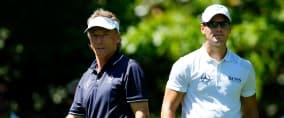 Martin Kaymer und Bernhard Langer vertreten Deutschland beim US Masters Tournament 2018. (Foto: Getty)