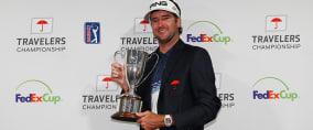 Bubba Watson gewinnt mit der Travelers Championship bereits seinen dritten Titel auf der PGA Tour 2018. (Foto: Getty)