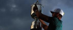 Brooks Koepka gewinnt bei der PGA Championship bereits sein 2. Major-Turnier in diesem Jahr. Foto: Getty)