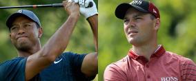 Martin Kaymer und Tiger Woods zeigten zum Auftakt der PGA Championship 2018 eine gehörige portion Kampfgeist. (Foto: Getty)