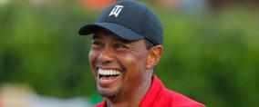 Nach dem 80. Sieg von Tiger Woods auf der PGA Tour feiern ihn seine Kollegen in den sozialen Medien. (Foto: Getty)